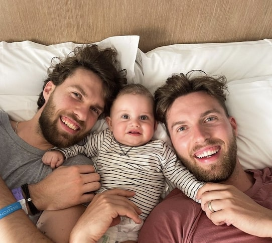 Mikkelsen Twins With Finn